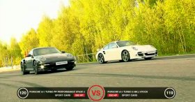 Porsche 911 Turbo vs Nissan GT-R