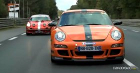 Porsche 911 Carrera RS (1973) vs Porsche 911 GT3 RS (2009)