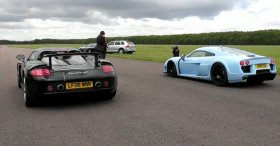 Porsche Carrera GT vs Noble M600
