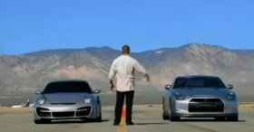 Porsche 997 Turbo vs Nissan GTR R35