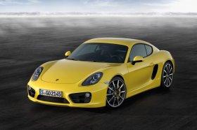 Porsche представил в Лос-Анджелесе модель Cayman.