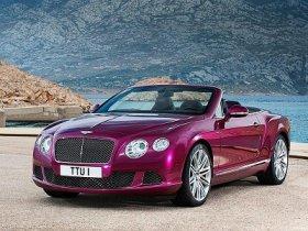 Самый быстрый кабриолет Bentley Continental: официальные фотографии