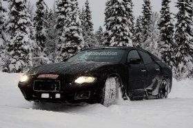Maserati Ghibli проходит зимнее тестирование