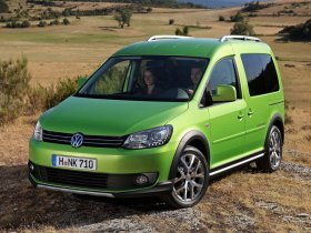 Немцы выпустят новый Volkswagen Caddy Cross