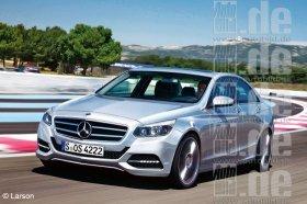 C-Class Mercedes-Benz'a: новые детали
