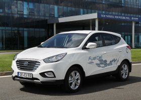В Данию поступили серийные варианты Hyundai ix35 Fuel Cell